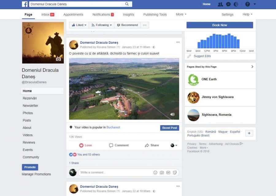 Facebook Dracula