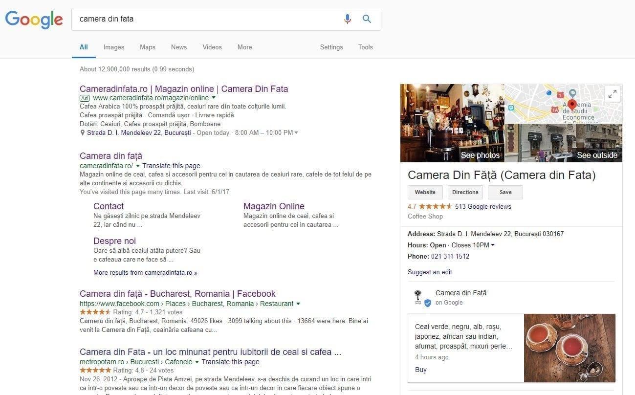 Cameradinfata Google