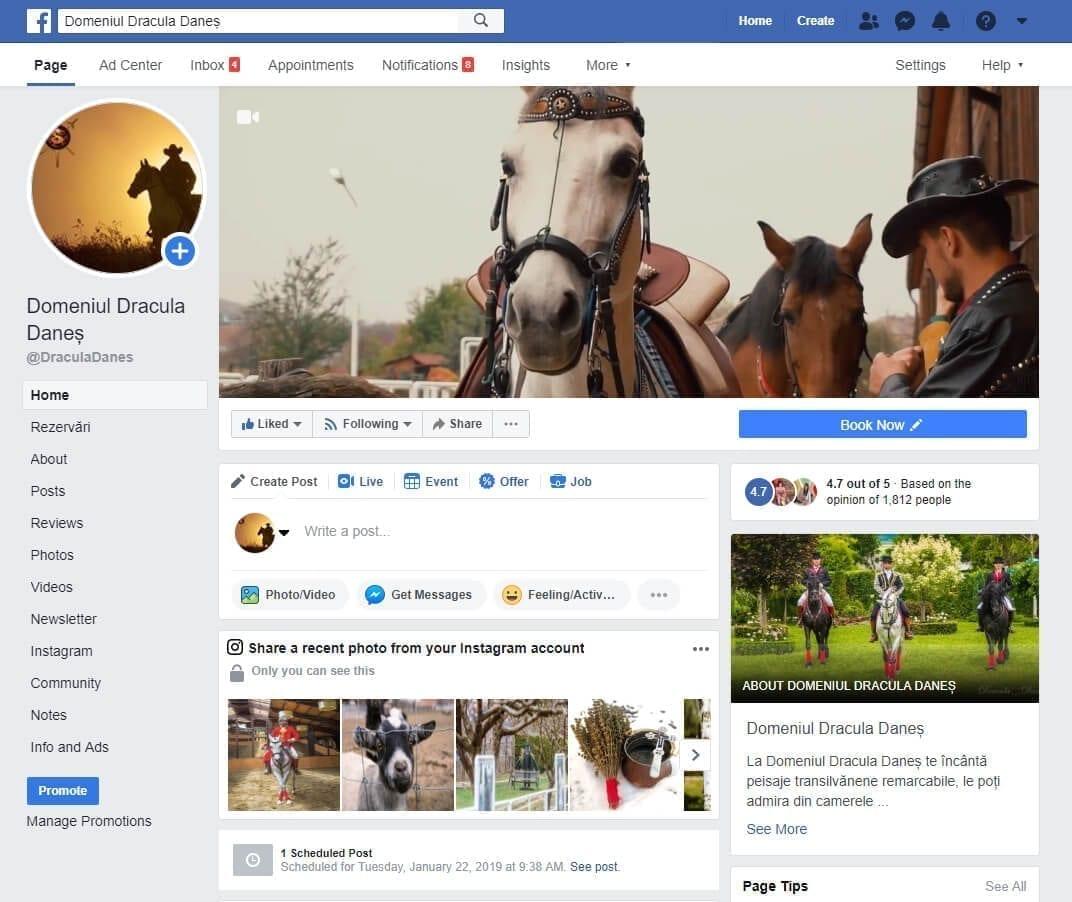 facebook dracul