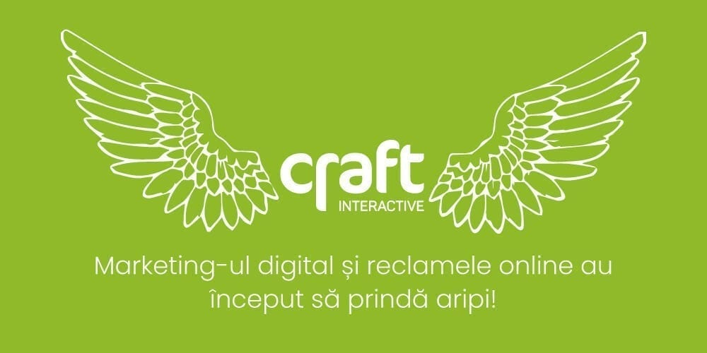 first paid online ad - craft interactive