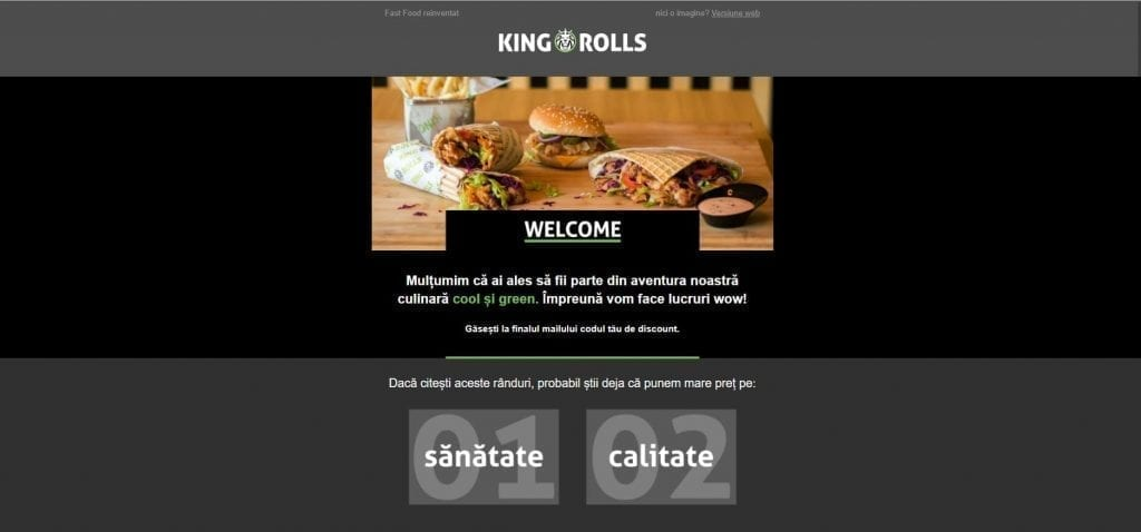 Newsletter King Rolls